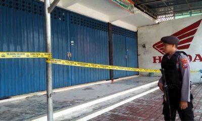 Dealer Wlingi Blitar Terbakar, Kerugian Diperkirakan Rp 5 Miliar