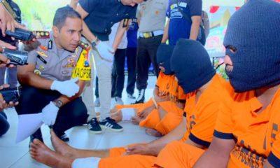 Rampok Grab Car Ditembak Polisi
