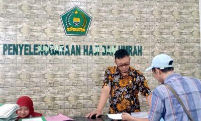Pelayanan haji dan umroh Kantor Kemenag Kabupaten Blitar