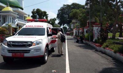 Blitar Covid-19 Demam dan Batuk, Penumpang KA Dari Bandung Dievakuasi ke RSUD Mardi Waluyo