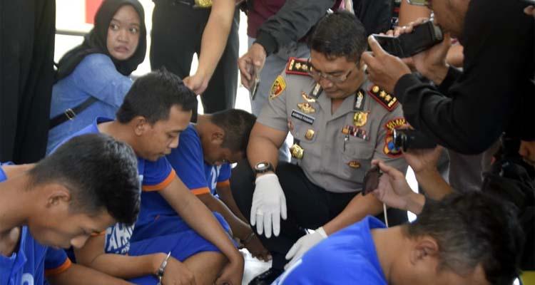 13 pengedar Narkoba diamankan Satnarkoba Polres Blitar