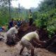Longsor, Akses Jalan Antar Desa di Dua Kecamatan di Kabupaten Blitar Tertutup