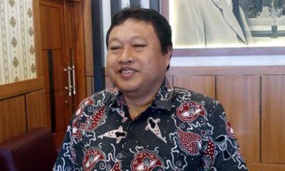 Ketua Tanfidz DPC PKB Kota Blitar, M Yasin Hermanto saat ditemui di Kantor DPRD Kota Blitar