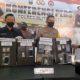 Satresnarkoba Polres Blitar Kota berhasil mengamankan 9 tersangka kasus peredaran narkotika