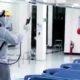 Petugas melalukan general cleaning di IGD RSUD Ngudi Waluyo